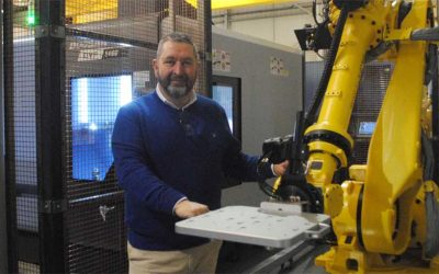 Lenane Precision Install Mills CNC Custom-Designed and Built Automated Manufacturing Cell